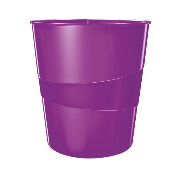 Koš odpadkový Leitz WOW purpurový