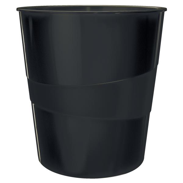 Koš odpadkový Leitz WOW černý